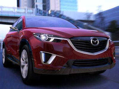 Mazda Minagi Concept Kompakt Crossover SUV CX-5 Kodo Soul of Motion SKYACTIV