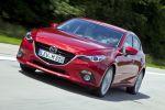 Mazda 3 Schrägheck Hatchback 2013 1.5 2.0 Skyactiv-G 100 120 165 2.2 Skyactiv-D 150 i-stop i-eloop Active Driving Display Touchscreen Internet App Head-up i-Activsense RVM LDWS SCBS MRCC SBS Pre-Crash Front