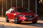 Mazda6 2015 Facelift Skyactiv-D Diesel Skyactiv-G Benziner Turbo Allrad AWD i-stop Active Torque Split i-Eloop Kondensator MZD Connect Touchscreen Internet Smartphone App Front Seite