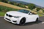 mbDesign BMW M4 Cabrio F82 Tuning Tieferlegung etabeta Venti-R Rad Felge Deep Concave Sportwagen 3.0 TwinPower Turbo Reihensechszylinder Front Seite