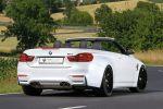 mbDesign BMW M4 Cabrio F82 Tuning Tieferlegung etabeta Venti-R Rad Felge Deep Concave Sportwagen 3.0 TwinPower Turbo Reihensechszylinder Heck Seite