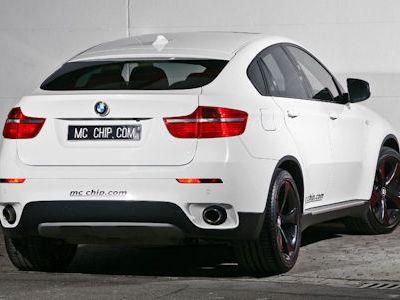 bmw x6 white with black rims. McChip DKR BMW X6 White Shark