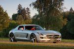 McChip-DKR Mercedes-Benz SLS AMG MC700 6.3 V8 Kompressor Flügeltürer Kubatech Front Seite Ansicht