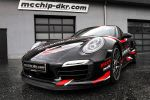 McChip-DKR Porsche 911 Turbo S Chiptuning Leistungssteigerung 991 3.8 Sechszylinder Biturbo Capristo Front