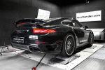 McChip-DKR Porsche 911 Turbo S Chiptuning Leistungssteigerung 991 3.8 Sechszylinder Biturbo Capristo Heck
