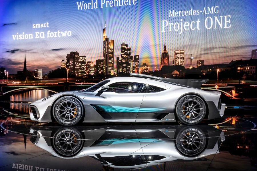 Mercedes Amg Project One Mit 1 6 Liter V6 Und 1000 Ps