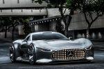Mercedes-Benz AMG Vision Gran Turismo PlayStation 3 Spiel Game Gran Turismo 6 V8 Biturbomotor Supersportwagen Zukunft Front