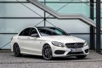Mercedes-Benz C 450 AMG 4MATIC Allrad C-Klasse Sportmodell 3.0 V6 Biturbo 7G-Tronic Plus Dynamic Select Sport Comfort Airmatic ADS Plus Distronic Plus BAS Plus Parktronic Front Seite