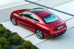 Mercedes-Benz CLA-Klasse A 250 A 220 CDI 7G DCT Effizienz viertüriges Coupe BlueDirect Magerbrennverfahren Schichtladebetrieb Heck Seite