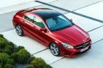 Mercedes-Benz CLA-Klasse 2015 A 180 200 250 220 CDI Effizienz viertüriges Coupe Front Seite
