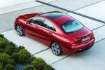 Mercedes-Benz CLA-Klasse 2015 A 180 200 250 220 CDI Effizienz viertüriges Coupe Heck Seite