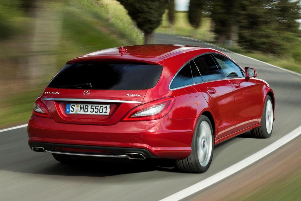Mercedes cls shooting brake das coup wird zum lifestyle for Mercedes benz collision prevention assist plus