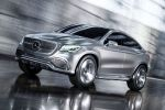 Mercedes-Benz Concept Coupe SUV MLC Crossover 3.0 V6 Biturbo 9G-Tronic Front Seite