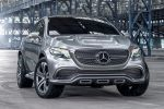 Mercedes-Benz Concept Coupe SUV MLC Crossover 3.0 V6 Biturbo 9G-Tronic Front