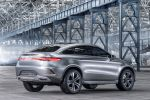 Mercedes-Benz Concept Coupe SUV MLC Crossover 3.0 V6 Biturbo 9G-Tronic Heck Seite