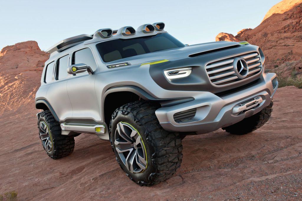 Mercedes ener g force futuristische neuinterpretation der for Mercedes benz g series suv