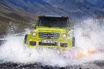 Mercedes-Benz G 500 4x4 Geländewagen Offroader 4.0 V8 Biturbo Beadlock Felgen Portalachsen Portalgetriebe Bodenfreiheit Wattiefe Rampenwinkel Böschungswinkel Steigfähigkeit Designo Dinamica Front