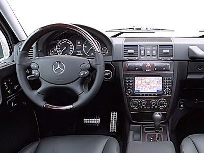 Mercedes g klasse zum geburtstag das komfort update for G klasse amg interieur