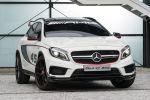 Mercedes-Benz GLA 45 AMG Performance Kompakt SUV 2.0 Vierzylinder Turbo 4MATIC Allrad Speedshift DCT 7 Gang Sportgetriebe Front