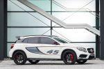 Mercedes-Benz GLA 45 AMG Performance Kompakt SUV 2.0 Vierzylinder Turbo 4MATIC Allrad Speedshift DCT 7 Gang Sportgetriebe Seite