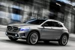 Mercedes-Benz GLA Concept Kompakt SUV 4MATIC Allrad 7G-DCT Turbo Benziner Laser Beamer Comand Online Front Seite