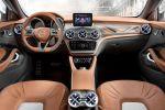 Mercedes-Benz GLA Concept Kompakt SUV 4MATIC Allrad 7G-DCT Turbo Benziner Laser Beamer Comand Online Interieur Innenraum Cockpit