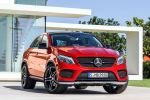 Mercedes-Benz GLE 450 AMG Coupe SUV Coupe Allrad 4MATIC 3.0 V6 Biturbo 9G-DCT Dynamic Select Sport Comfort Airmatic ADS Plus Distronic Plus BAS Plus Parktronic Magic Vision Control Front