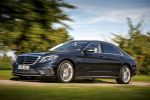 Mercedes-Benz S 65 AMG S-Klasse 2014 W222 Limousine 6.0 V12 Biturbo Speedshift MCT 7 Gang Sportgetriebe Road Surface Scan Front Seite