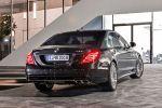 Mercedes-Benz S 65 AMG S-Klasse 2014 W222 Limousine 6.0 V12 Biturbo Speedshift MCT 7 Gang Sportgetriebe Road Surface Scan Heck