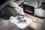 Mercedes-Benz S 65 AMG S-Klasse 2014 W222 Limousine 6.0 V12 Biturbo Speedshift MCT 7 Gang Sportgetriebe Road Surface Scan Interieur Innenraum Fond Rücksitze