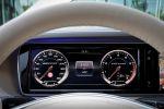 Mercedes-Benz S 65 AMG S-Klasse 2014 W222 Limousine 6.0 V12 Biturbo Speedshift MCT 7 Gang Sportgetriebe Road Surface Scan Interieur Innenraum Cockpit