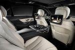 Mercedes-Benz S-Klasse 2013 W222 Limousine V6 V8 Hybrid CDI BlueTec 7G Tronic Plus Road Surface Scan Air Balance Energizing Interieur Innenraum Fond Rücksitze