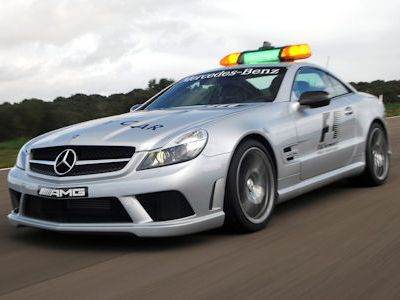 2003 Mercedes Benz Clk55 Amg F1 Safety Car. Alle AMG Safety Cars auf einen