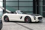 Mercedes-Benz SLS AMG GT Final Edition Roadster 6.3 V8 Speedshift DCT Performance Ride Control Carbon Front Seite