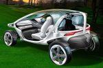 Mercedes-Benz Vision Golf Cart Golfspieler Elektromotor Straße Green Golfplatz Touchscreen Scorekarte Airscarf Joystick Flutlicht Regenradar Stauraum Platz Halfway Heck Seite