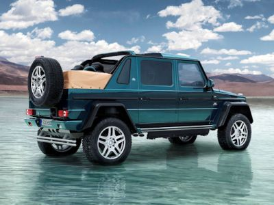 Mercedes-Maybach G 650 Landaulet Geländewagen Offroader Allrad 4x4 V12 Biturbo Portalachsen Bodenfreiheit Luxus