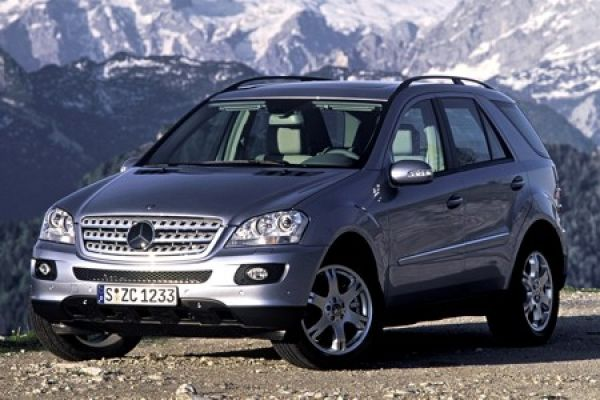 mercedes ml 500 st rkerer v8 motor im modelljahr 2008 speed heads. Black Bedroom Furniture Sets. Home Design Ideas