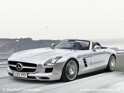 mercedes sls amg. Mercedes Benz Sls Amg Roadster