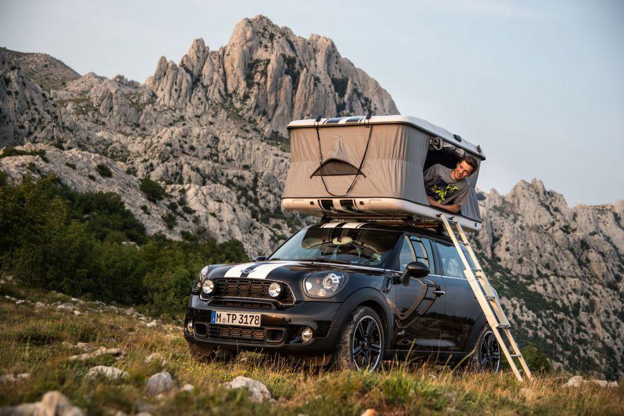Mini Countryman ALL4 Camp: Für Abenteurer ein Zelt auf dem
