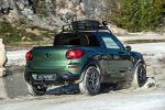 Mini Paceman Adventure Pickup Offroad Gelände Cooper S 1.6 Twin Scroll Turbo Heck Seite