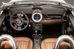 Mini Roadster Cooper S SD John Cooper Works Vierzylinder 1.6 Twin Scroll Turbolader 2.0 Turbo Diesel Minimalism DSC EPS EBD CBC EDLC DTC Zweisitzer Visual Boost Connected Always Open Timer Interieur Innenraum Cockpit