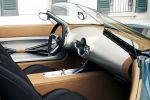 Mini Superleggera Vision Roadster Carrozzeria Touring Elektromotor Finne Aluminium Interieur Innenraum Cockpit