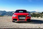 Audi RS3 Sportback Test - Front Ansicht vorne