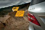 Mercedes-Benz ML 63 AMG Test - Heck Rückleuchte Schriftzug AMG Schildchen