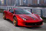 Ferrari 458 Italia 20th Anniversary Special Edition China Drachen 4.5 V8 Front Seite Ansicht