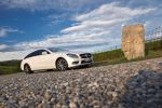 mercedes benz cls 500 shooting brake test - coupe kombi fließheck v8 biturbo lifestyle mode comand online internet airmatic parktronic assist front seite ansicht
