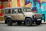 Land Rover Defender 2011 X-Tech Limited Edition Nara Bronze 110 Station Wagon Offroad Front Seite Ansicht