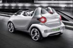 Smart Forspeed Concept Elektro Motor Boost Electric Drive Zero Emission Tridion Roadster Smartphone Smart drive App fort he iPhone Smart Touch Car Finder Heck Seite Ansicht