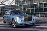 Rolls-Royce 102 EX Test - Front Ansicht von vorne seitlich Kühlergrill Motorhaube Emily Stoßstange Xenon Scheinwerfer