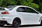 Mitsubishi Lancer Evolution X FQ-440 MR 2.0 Vierzylinder Turbo Super All Wheel Control S-AWC Heck Seite
